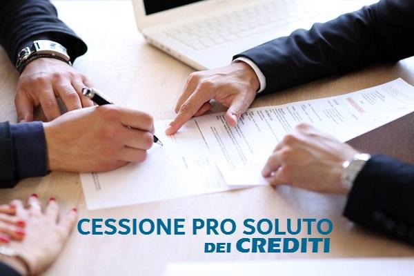 cessione pro soluto dei crediti veneto