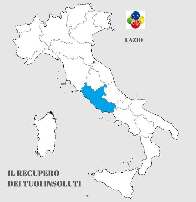 servizio recupero crediti in Lazio