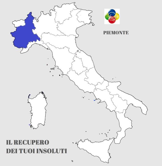 servizio recupero crediti in Piemonte