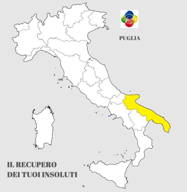 servizio recupero crediti in Puglia